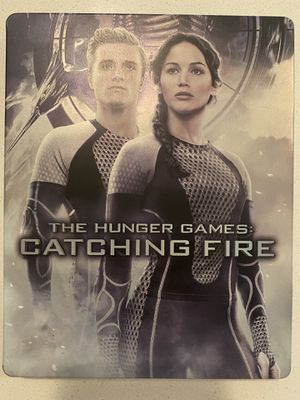 Hunger Games: Catching Fire Bluray Steelbook for Sale in Aurora, CO