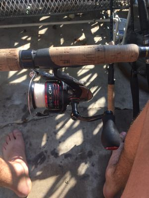 Shimano stardic Ci4 and Shimano Clarus Fishing Rod for Sale in Orange, CA
