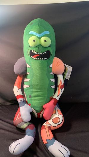 Rick and morty pickle plush for Sale in Vallejo, CA