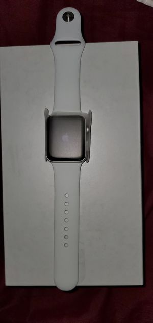 Apple watch series 3 38mm GPS only (Silver) for Sale in Stockton, CA