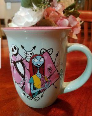 Nightmare Before Christmas Misfit Love Mugs for Sale in Montclair, CA