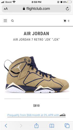 Jordan Retro 7 J2K Size 12 for Sale in Chicago, IL