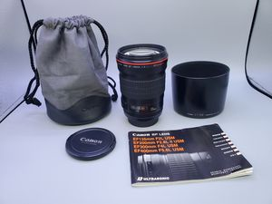Canon ef 135mm f2L for Sale in Glendale Heights, IL