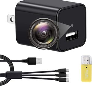 Brand New Camera Charger-Mini Camera 1080p-USB Charger Camera-Exquisite and Compact Camera-Full HD Surveillance Camera-with Dynamic Detection Function for Sale in Hayward, CA