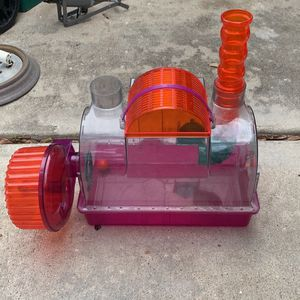 Hamster Cage With Wheel for Sale in Houston, TX