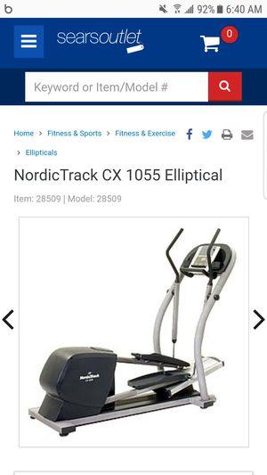 NORDIC TRACK CX-1055 ELLIPTICAL for Sale in Phoenix, AZ