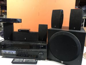 Wireless surround system w/ receiver for Sale in Silver Spring, MD