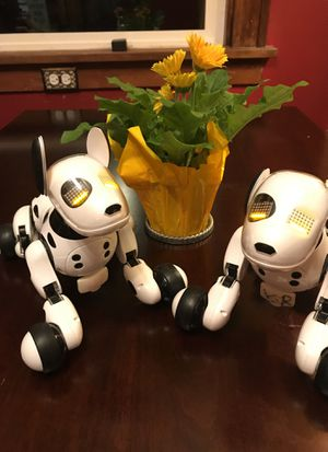 Reduced !!Toys!! Need new homes soon!! Cute, adorableZoomer Robotic Dogs!! for Sale in Tacoma, WA