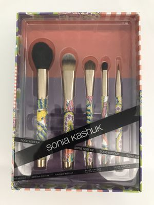 Sonia Kashuk Snakes 5 Piece Makeup Brush Set Couture Limited Edition for Sale in Rancho Mirage, CA