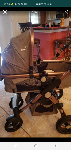 Baby Stroller 3 In 1 With Car Safety Seat for Sale in Fort Pierce, FL