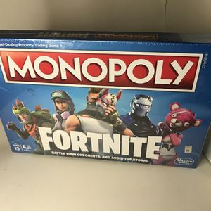 Monopoly Fortnite Edition for Sale in Gilbertsville, PA