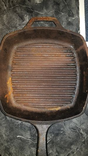 Cast iron pans. 50 for both. for Sale in Huntsville, TX