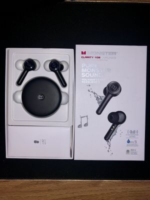 Monster Clarity 102 Wireless Headphones for Sale in Cortland, NY