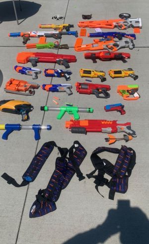 Nerf guns and rifles for Sale in Westerville, OH