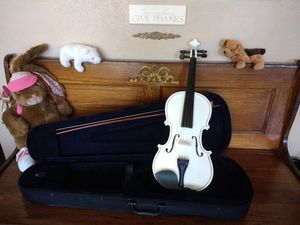 NEW Violin Fiddle 4/4 Exquisite White for Sale in San Marcos, CA