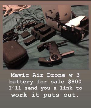 DJI Mavic Air Fly More for Sale in The Bronx, NY