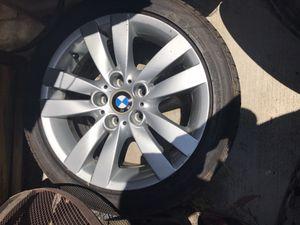 """4 Original BMW RIMS - tire size 17"""" - 255/40 - 5 lugs for Sale in Rialto, CA"""