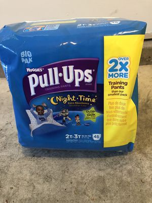 Huggie Pull Ups 2T-3T, Huggies and Pampers diaper Sz 6 for Sale in Lynnwood, WA