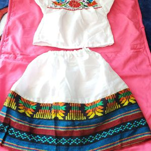 Size 1 - 2 Años. Traje Mexicano Seminueva for Sale in Bloomington, CA