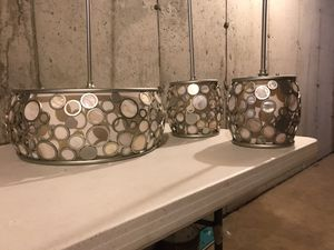 Kitchen Island and Dinette Light Set for Sale in Holden, MA