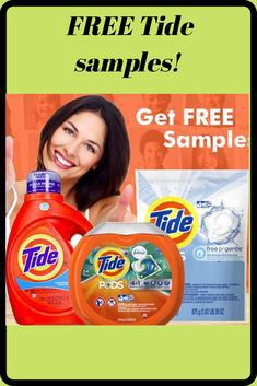 Free tide detergent giveaway for Sale in Memphis, TN