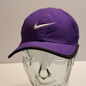 Nike purple featherlight dri-fit hat cap. Pre-owned, very good shape for Sale in San Jose, CA