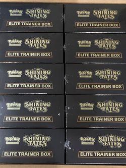 Pokémon Shining Fates Elite Training Boxes CASE for Sale in Anaheim,  CA