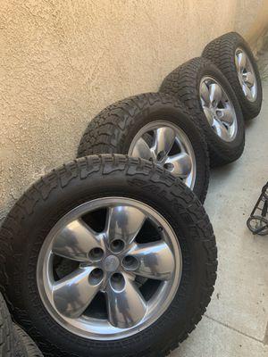 Dodge Ram Wheels/Tires for Sale in Fontana, CA