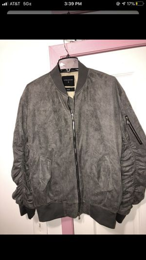 Suede bomber jacket for Sale in New York, NY