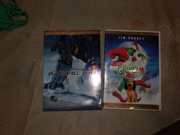 Pacific Rim special edition and the Grinch