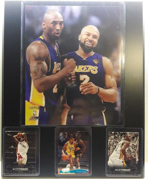 Kobe Bryant and Fisher plaque for Sale in Vernon, CA