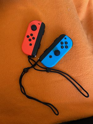 Nintendo Switch Joy-Con L/R Neon Red/ Neon Blue for Sale in Coral Gables, FL