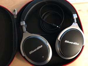 Bluedio Bluetooth Headphones, Over Ear, Active Noise Cancelling, with Mic for Sale in Everett, WA