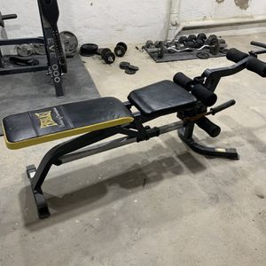 Everlast Incline Flat Decline Bench With Removable Preacher Curl / Leg Extension /leg Curl for Sale in East Williston, NY
