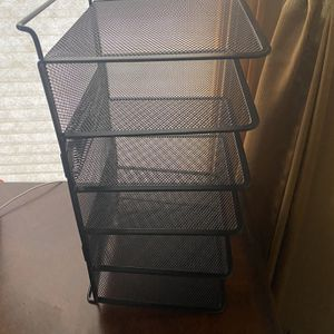6 Tier metal desk file Organizer for Sale in Sterling Heights, MI