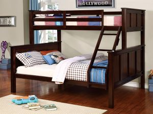 Twin/Queen bunk bed with mattresses for Sale in Las Vegas, NV