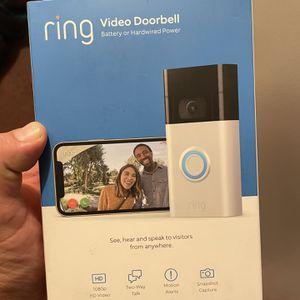 Ring Video DoorBell 2nd Gen for Sale in Ontario, CA