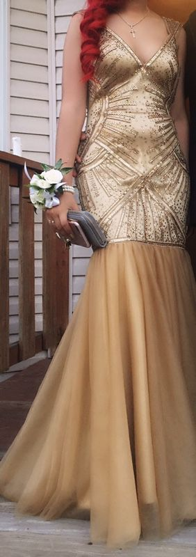 Gold Prom dress for Sale in Boston, MA