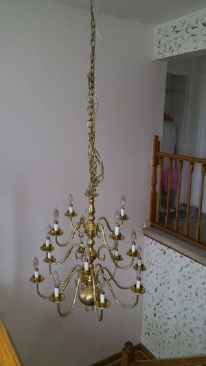 Gold chandelier for Sale in New York, NY