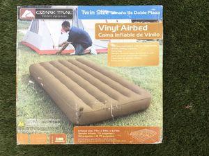 Twin air mattress by ozark trail for Sale in San Diego, CA