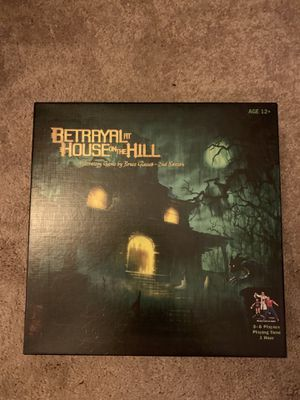 Betrayal at house on the hill board game for Sale in Falls Church, VA