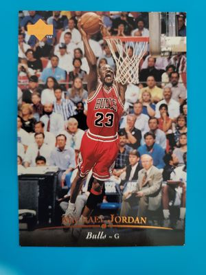 Michael Jordan Chicago Bulls Upper Deck for Sale in Fontana, CA
