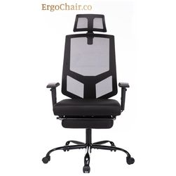 Still in Box! Ergonomic Office Computer Mesh Chair with Leg Rest for Sale in San Antonio,  TX