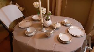 Vintage Asian china 1920's 12 settings hand painted gold leaf. Appraised at 400.00 asking 75.00 for Sale in Yuma, AZ