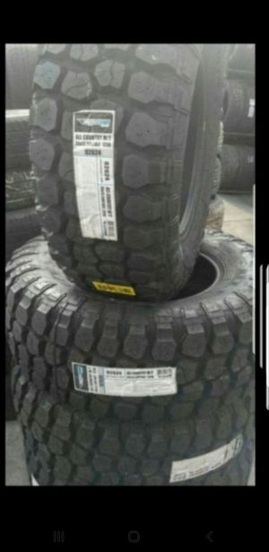 4 New 35x12.50-18 Ironman MT Mud Terrain Tires 35/12.50-R18 inch tire for Sale in Moreno Valley, CA