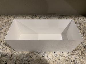 White Plant Pot for Sale in Little Elm, TX