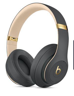 Shadow Grey Beats Studio 3 wireless headphones for Sale in Alexandria, VA