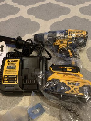 Dewalt DCD996 Hammerdrill, 5.0ah battery and charger. for Sale in Olathe, KS