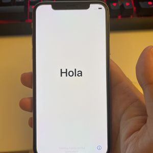 iPhone X 256GB White Unlocked for Sale in Tempe, AZ
