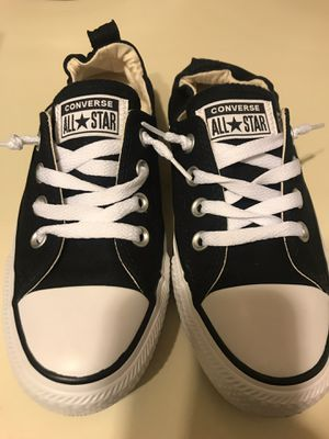 Low Top Black & White Converse All Stars for Sale in New York, NY